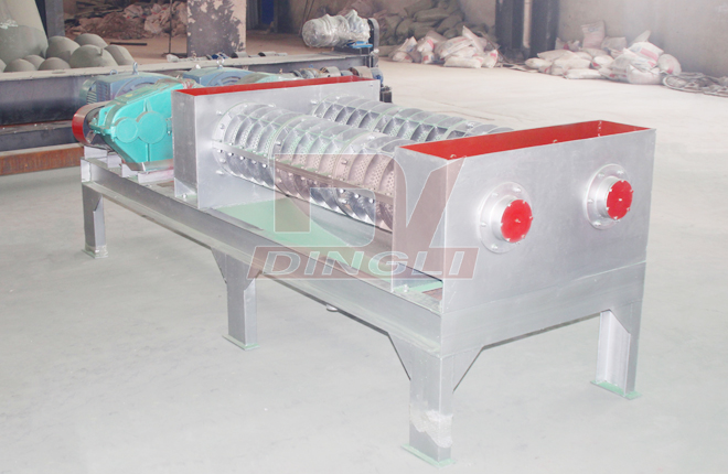 Spent Grain Screw Dewatering Machine3