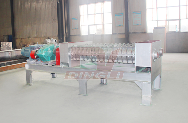 Spent Grain Screw Dewatering Machine2